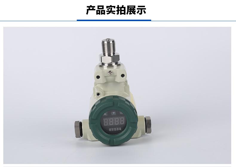榔头型压力变送器传感器  防爆 数显型 数字2088型压力变送器传感器示例图1