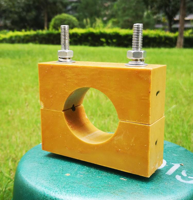 阻燃复合材料电缆夹具 环氧板电缆卡子价格 矿井电缆固定卡示例图2