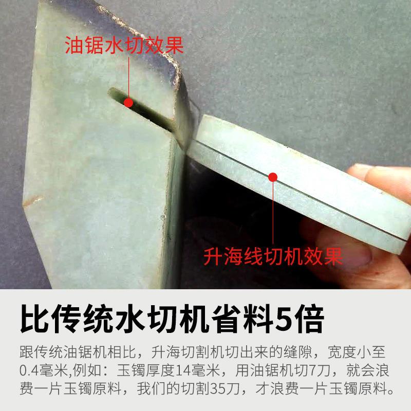 翡翠原石切割机价格 数控小型玉石头切割机切片机示例图2