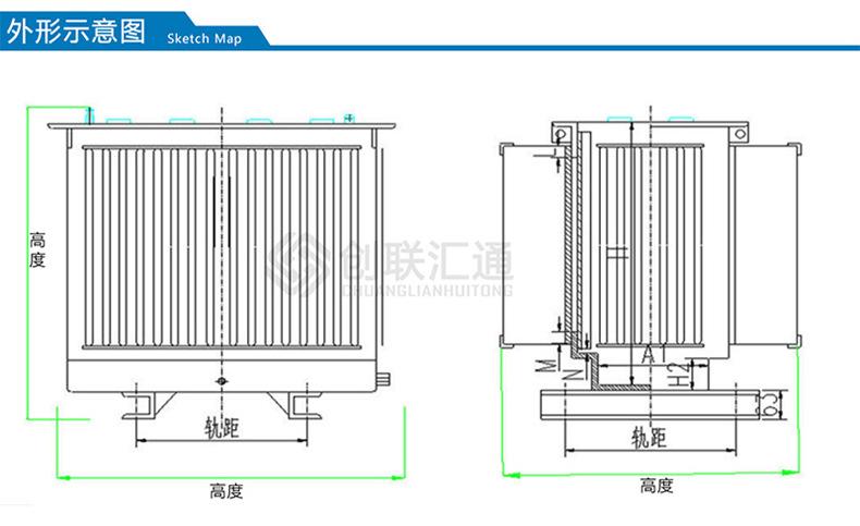 S11-160kva地埋式变压器 景观式地埋变压器 路灯地埋变压器-创联汇通示例图4