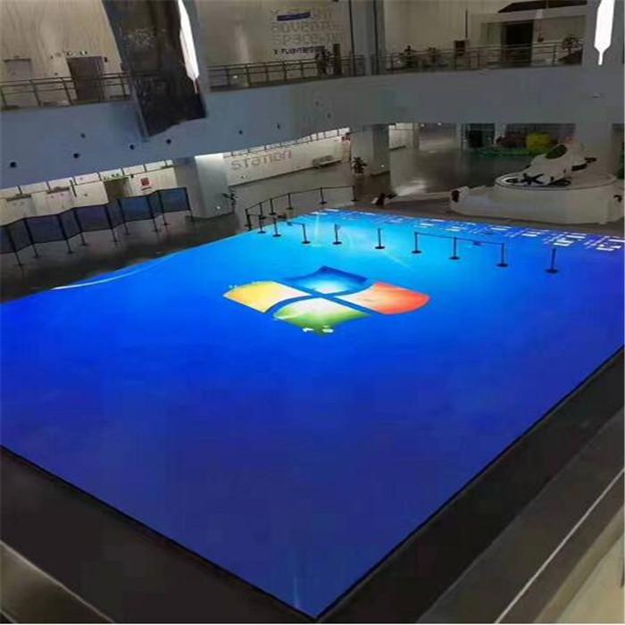 互动地砖LED显示屏 P4.81地砖LED电子屏价格