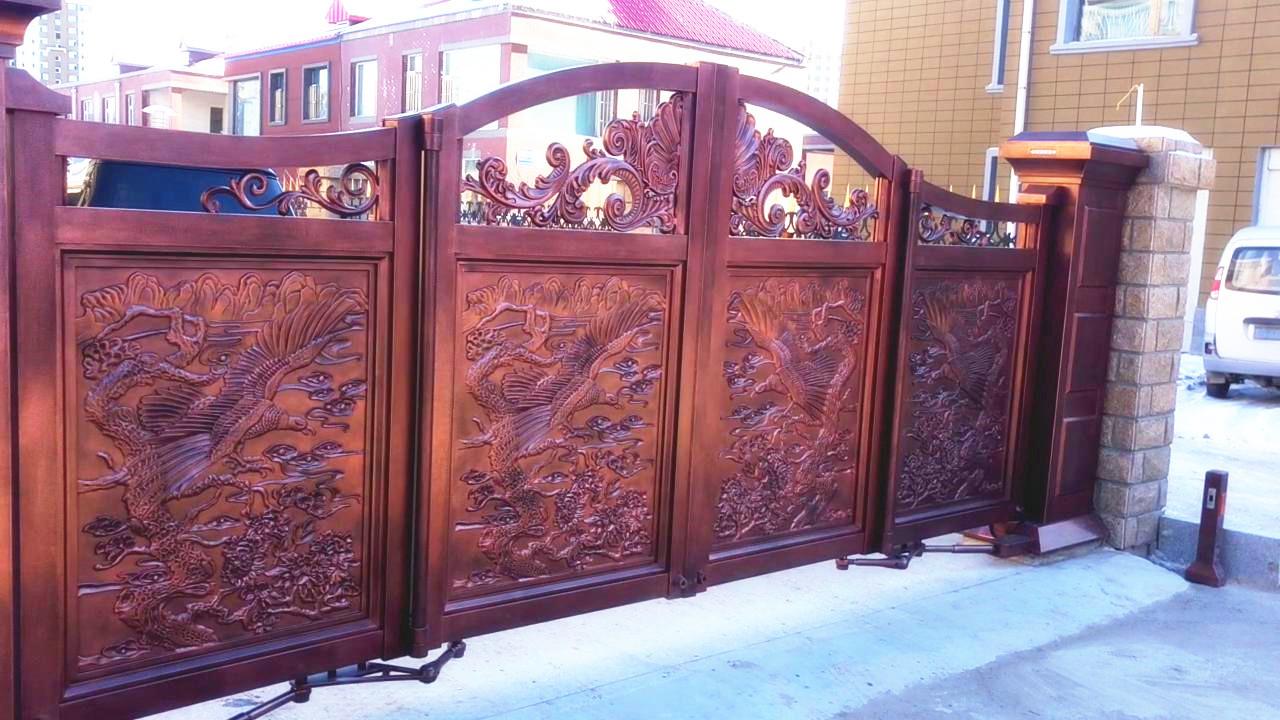 吉林松原精雕懸浮折疊門工程2.jpg