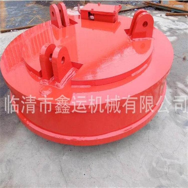 厂家直销起重电磁铁MW5-130L/1强励磁挖掘机吸铁盘行车搬运废钢废料起重电磁吸盘示例图13
