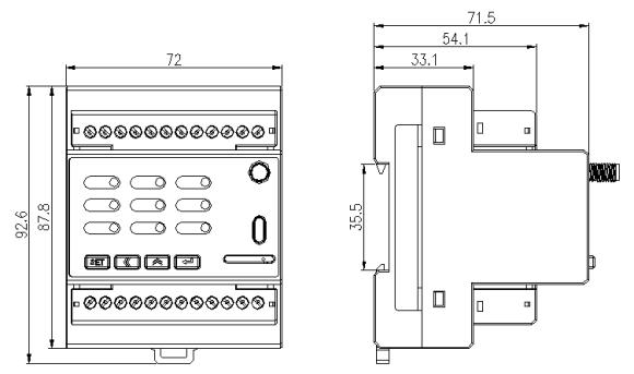基站三路计量模块 安科瑞ADW350WA-4G/KCT 4路温度测量 4G通讯无线传输示例图3