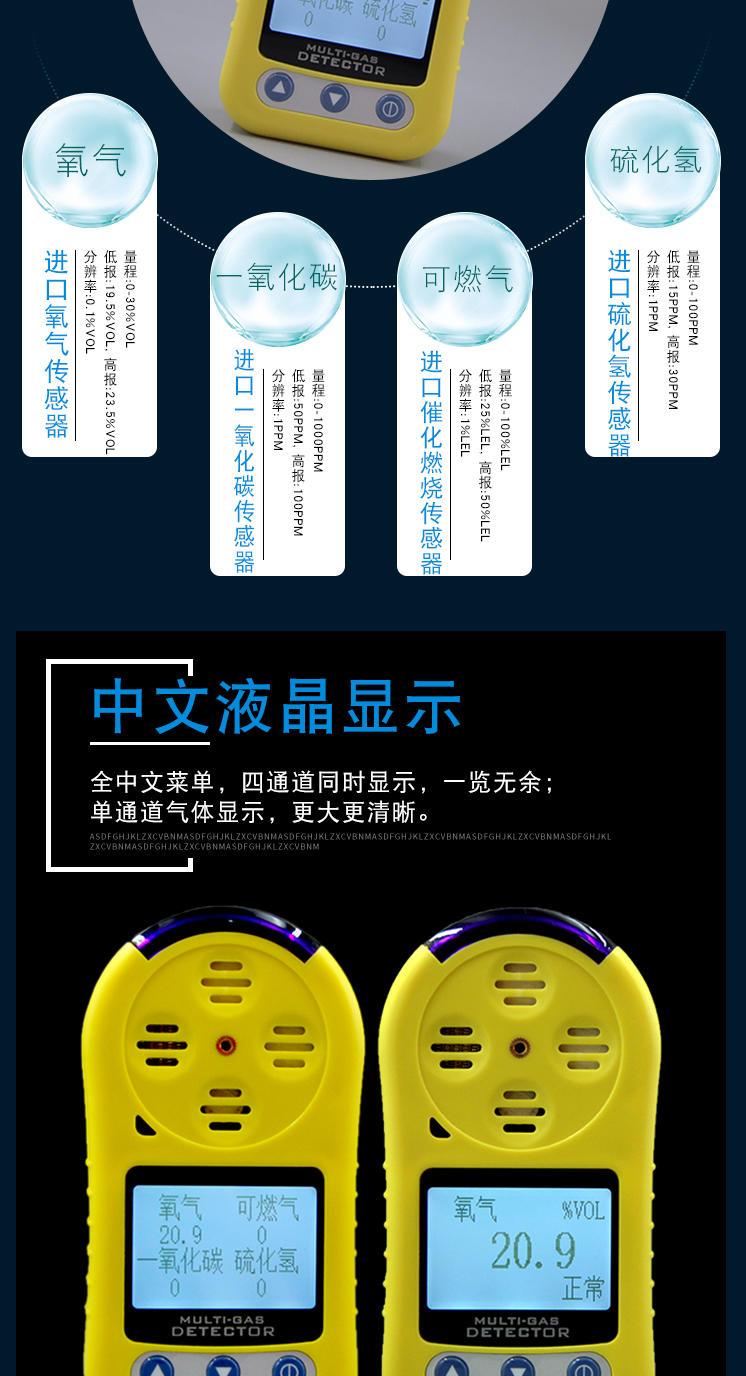 臭氧检测仪 便携式臭氧测漏仪 手持臭氧有毒有害气体探测仪示例图10