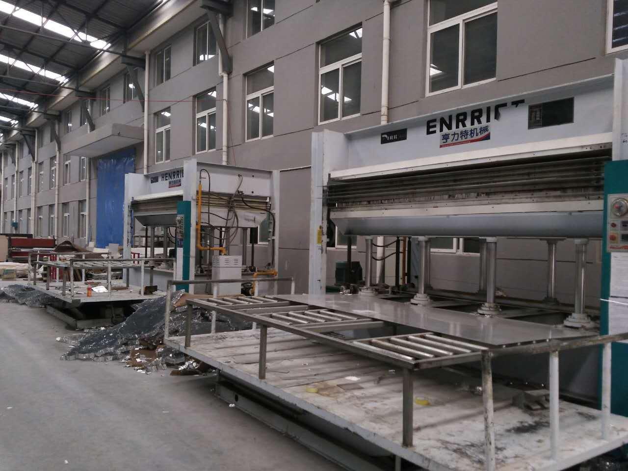 亨力特hlt3248-600t三聚氰氨貼面熱壓機,木工家具貼面熱壓機,生態板貼面熱壓機,尺寸非標可以定制示例圖37