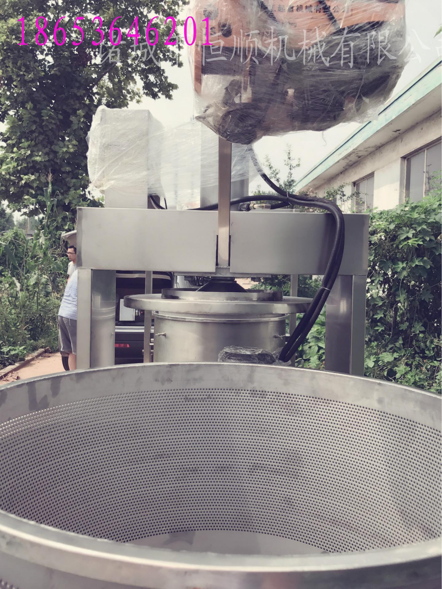 发酵中药原液提取压榨机 中药酵素过滤杂质压滤机 药泥固液分离机示例图65