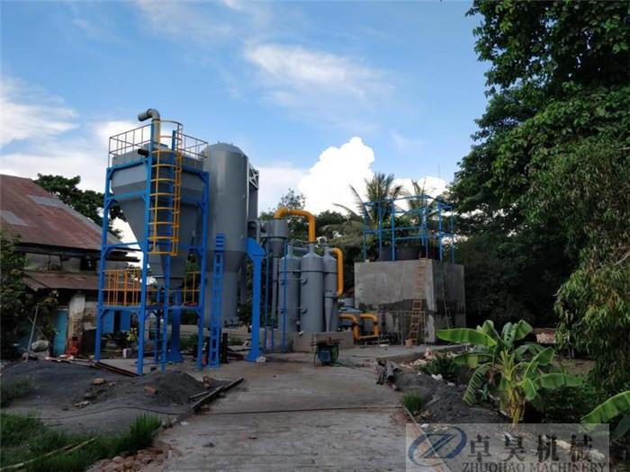 卓昊固定床生物質氣化爐直徑1.5-3米木塊氣化設備價格秸稈氣化爐價格示例圖10