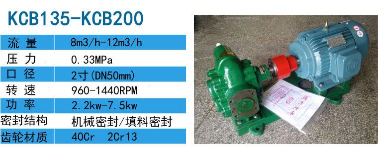 供应KCB2500输油泵泵内部件采用输送介质润滑-远东泵业示例图3