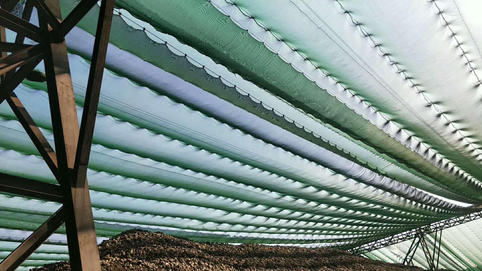 尼龍柔性防風網,防風屏障,煤場擋風墻,煤場防風防塵屏障示例圖17