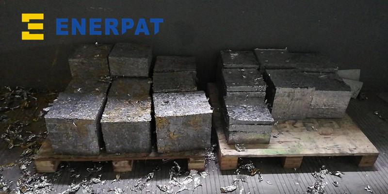 轻薄碎铝屑压块机 强力压缩示例图9