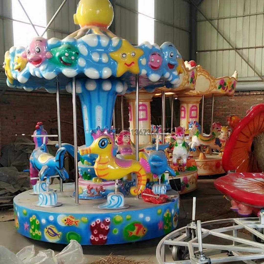 儿童游乐设备桑巴气球 厂家直销 郑州大洋8臂桑巴气球公园游乐示例图47