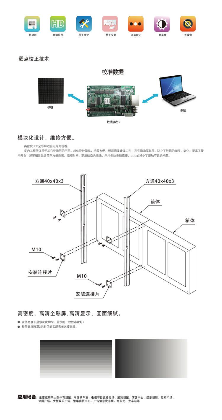 LED显示屏 户外P8全彩电子显示屏 价格优惠 质保2年示例图13
