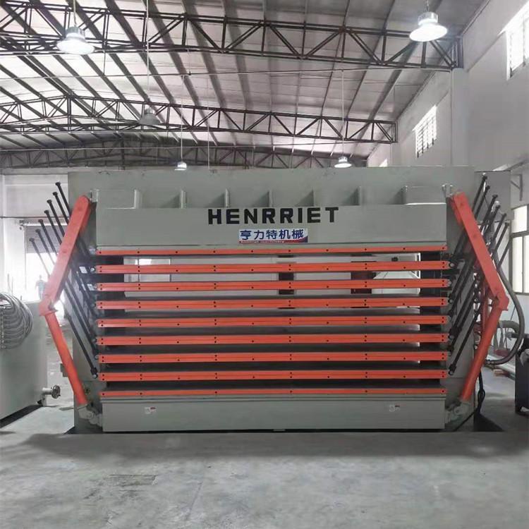 亨力特hlt3248-600t三聚氰氨貼面熱壓機,木工家具貼面熱壓機,生態板貼面熱壓機,尺寸非標可以定制示例圖13