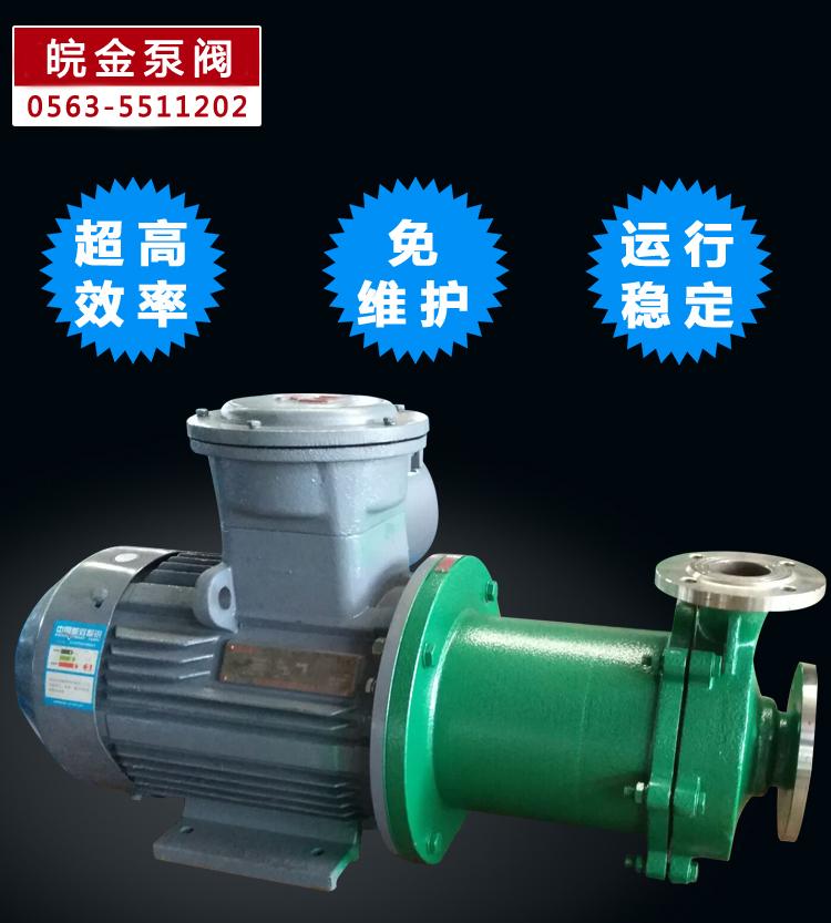CQB磁力離心泵 不銹鋼磁力泵品牌 化工磁力驅動泵 304.316L磁力管道泵生產示例圖8