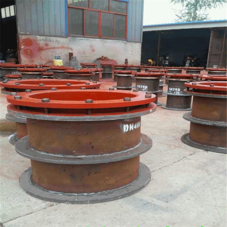 杰胜钢制防水套管法兰式防水套管 专业订做各种长度防水套管示例图4