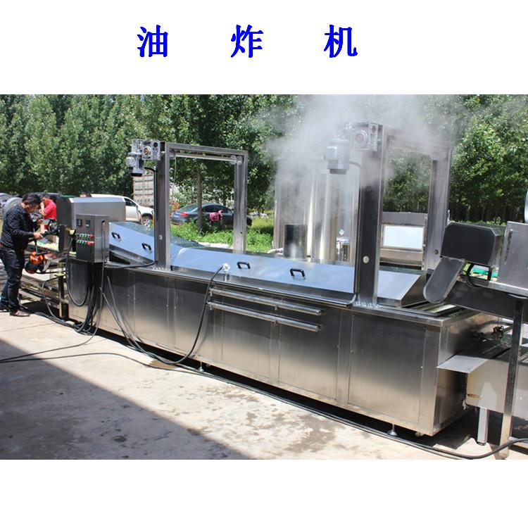 利杰LJ-5000速冻薯条油炸流水线/利杰自动刮渣不锈钢薯条成套油炸流水线示例图7