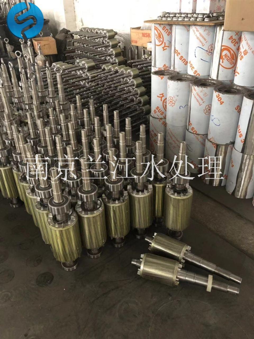 南京兰江MA2.2/8-320/3-980好氧池潜水搅拌机 铸件式潜水搅拌机示例图5