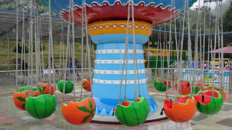 低价提供儿童游乐设备水果飞椅 厂家直销 郑州大洋火爆销售16座水果飞椅示例图2