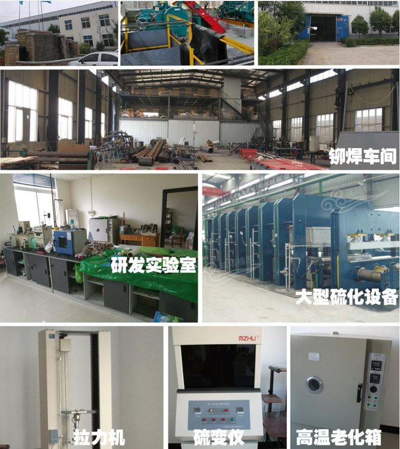 滚筒包胶 厂内施工现场施工均可示例图3