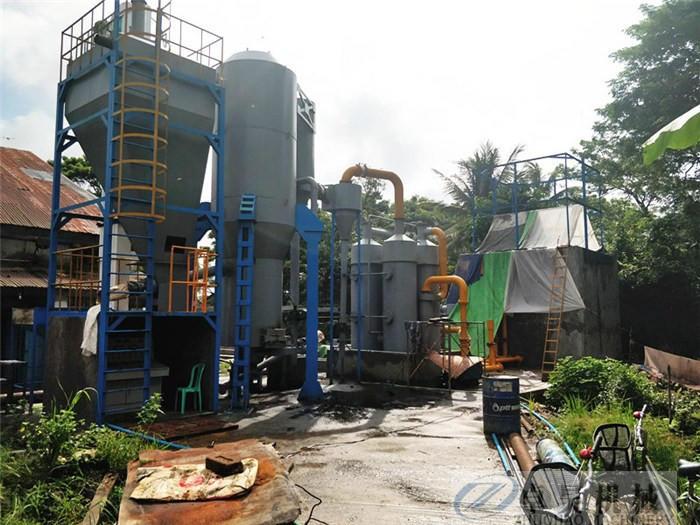 卓昊固定床生物質氣化爐直徑1.5-3米木塊氣化設備價格秸稈氣化爐價格示例圖15