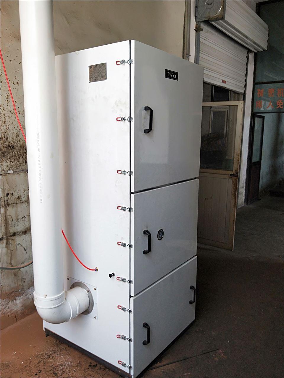 磨床粉尘吸尘器 车间机械设备工业集尘器 烟雾除尘器示例图17
