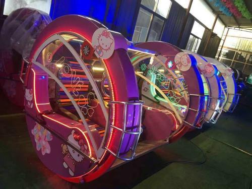 儿童12座迷你飞椅游乐设备 旋转飞椅大洋游乐厂家专业定制生产示例图53