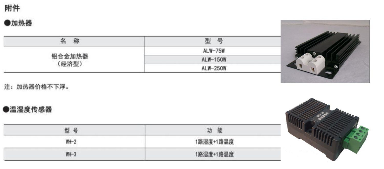 开关柜智能温湿度控制器   安科瑞WHD48-11/C 485通讯可远程监控  一路温度一路湿度   四芯屏蔽线链接示例图5