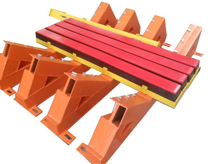 水泥厂皮带卸料口缓冲床  缓冲床源头生产厂家示例图12