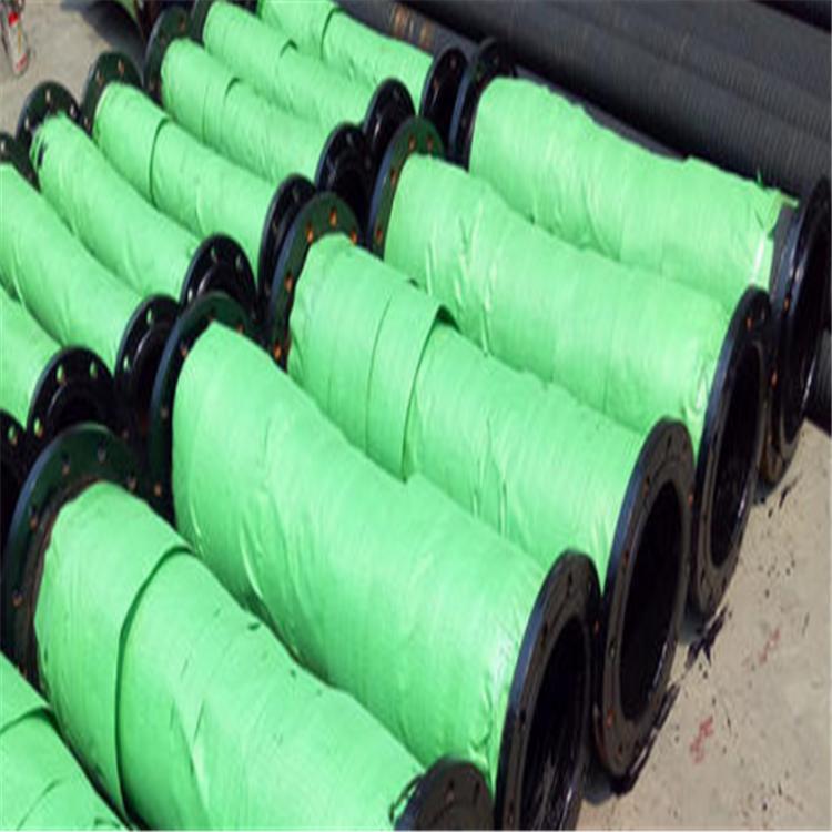 弘创厂家加工大口径夹布胶管 dn350大口径输水胶管 钢丝骨架水龙胶管  质量好示例图3