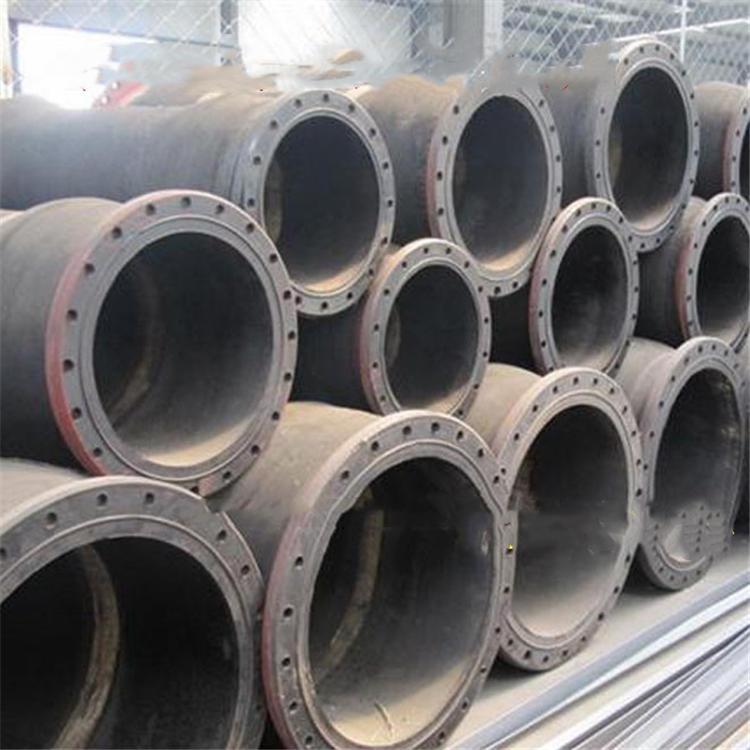 弘创厂家加工大口径夹布胶管 dn350大口径输水胶管 钢丝骨架水龙胶管  质量好示例图4