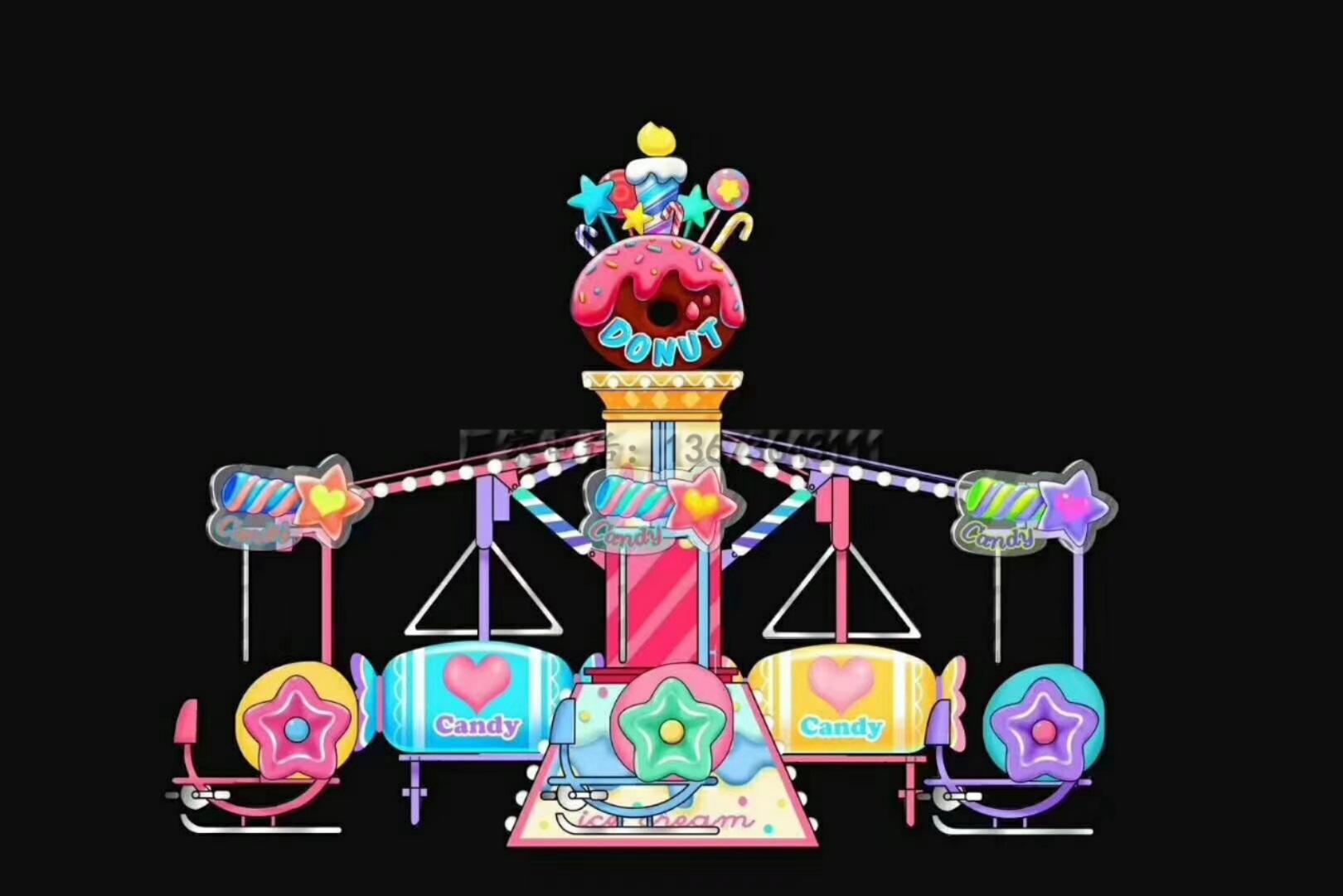 儿童游乐设备桑巴气球 厂家直销 郑州大洋8臂桑巴气球公园游乐示例图21