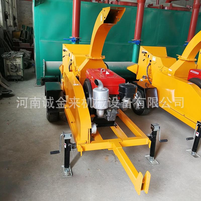 树枝粉碎机 移动式木材粉碎机 多功能木屑木粉机厂家支持订购示例图16