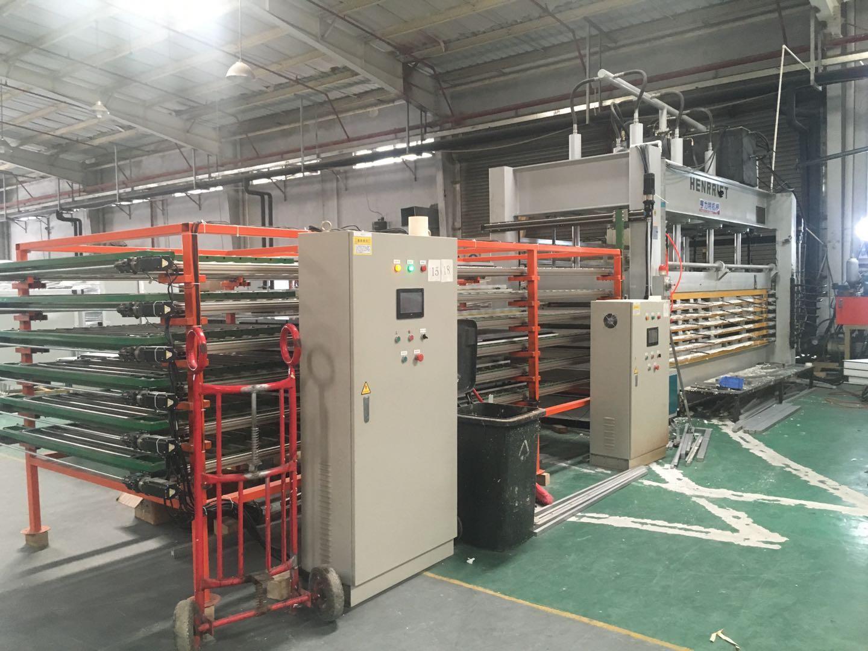 亨力特HLT3248-120T聚氨酯發泡層壓機,熱壓機尺寸非標可以定制示例圖16
