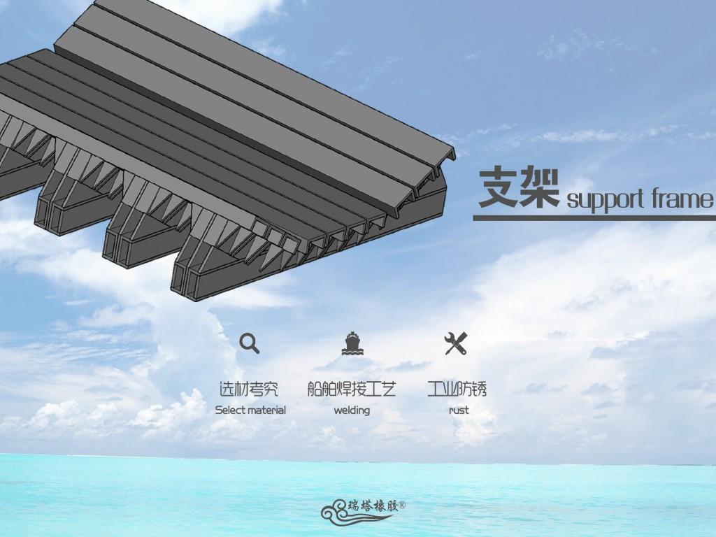 缓冲床主要用于替代缓冲托辊 有效的吸收了物料的冲击力示例图6