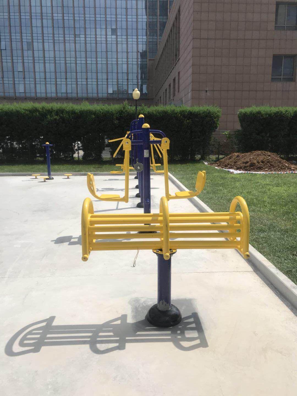 销售公园小区单人健骑机  室外健身器材  户外健身路径 增强体质示例图13