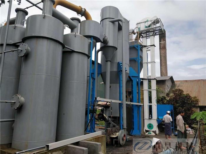 卓昊固定床生物質氣化爐直徑1.5-3米木塊氣化設備價格秸稈氣化爐價格示例圖11