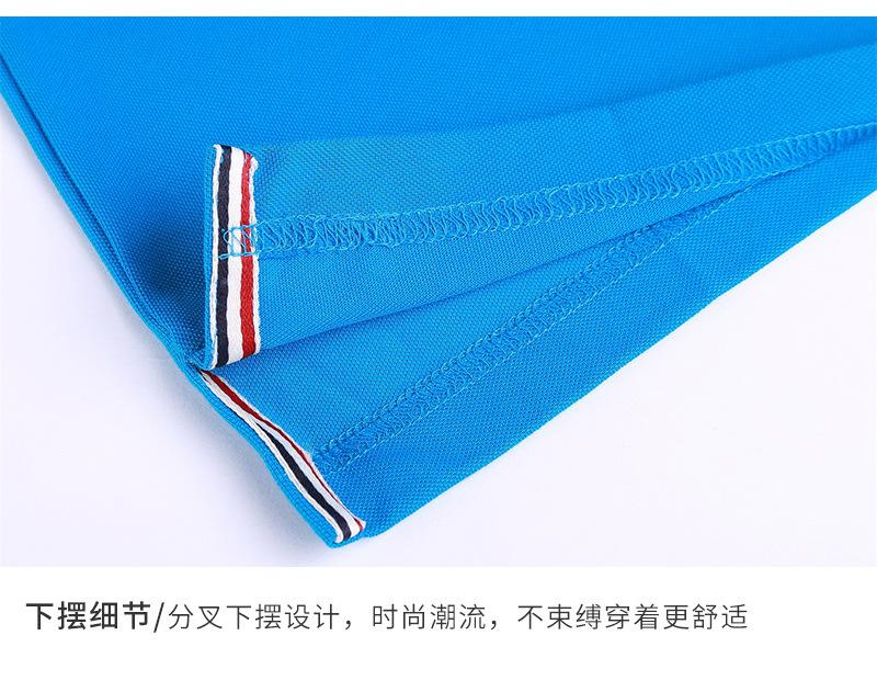 工厂直销保罗衫定制 夏季翻领保罗衫工作服定制 提供设计印LOGO示例图15