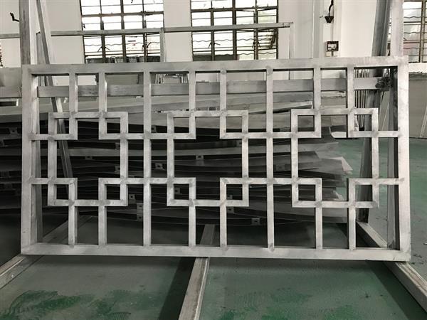 成都铝窗花大概起订制 江西樟树市街道改造窗花 中式铝合金窗花厂家示例图8