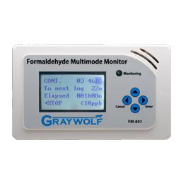 轨道交通用Garywolf FM-801甲醛检测仪示例图1