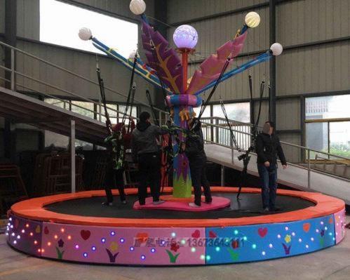 儿童游乐设备桑巴气球 厂家直销 郑州大洋8臂桑巴气球公园游乐示例图54