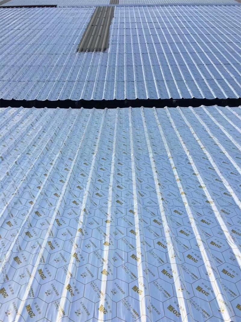 野麦龙彩钢瓦屋面高温抗耐老化防水卷材示例图7