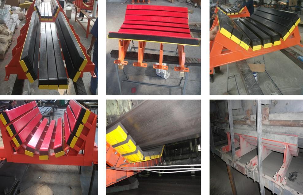 水泥厂皮带卸料口缓冲床  缓冲床源头生产厂家示例图13
