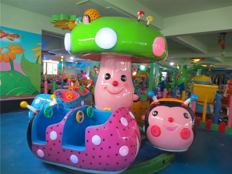 儿童小型游乐设备瓢虫乐园 郑州大洋保质保量室内6车瓢虫乐园项目示例图12