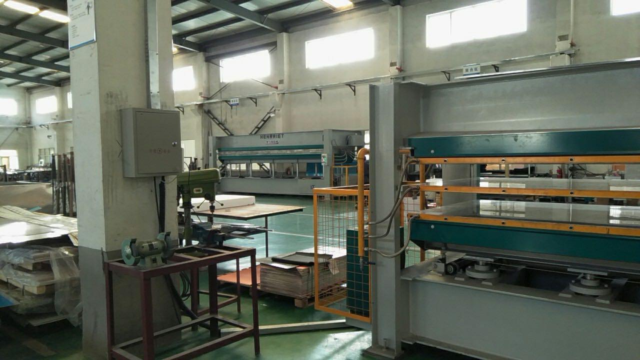 亨力特hlt3248-600t三聚氰氨貼面熱壓機,木工家具貼面熱壓機,生態板貼面熱壓機,尺寸非標可以定制示例圖40