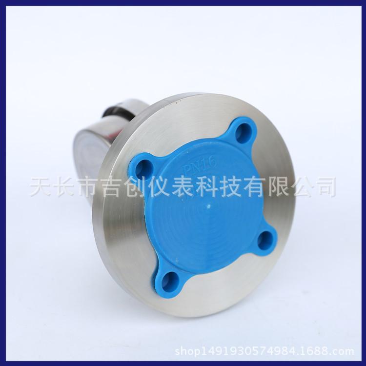 厂家直销不锈钢耐震隔膜压力表 YN-100/MF/DN50 耐震隔膜压力表示例图6