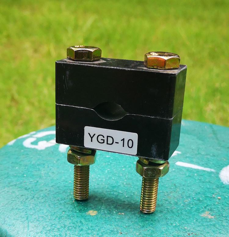 阻燃复合材料电缆夹具 环氧板电缆卡子价格 矿井电缆固定卡示例图4