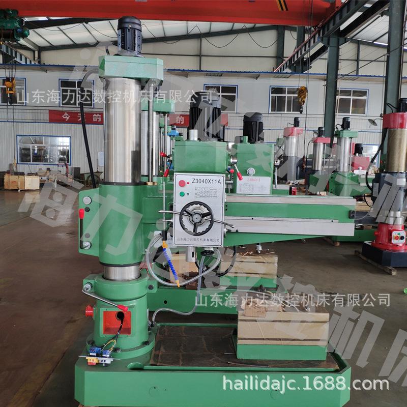 厂家直销山东海力达摇臂钻床3040x11A机械z3040摇臂钻产地货源示例图13