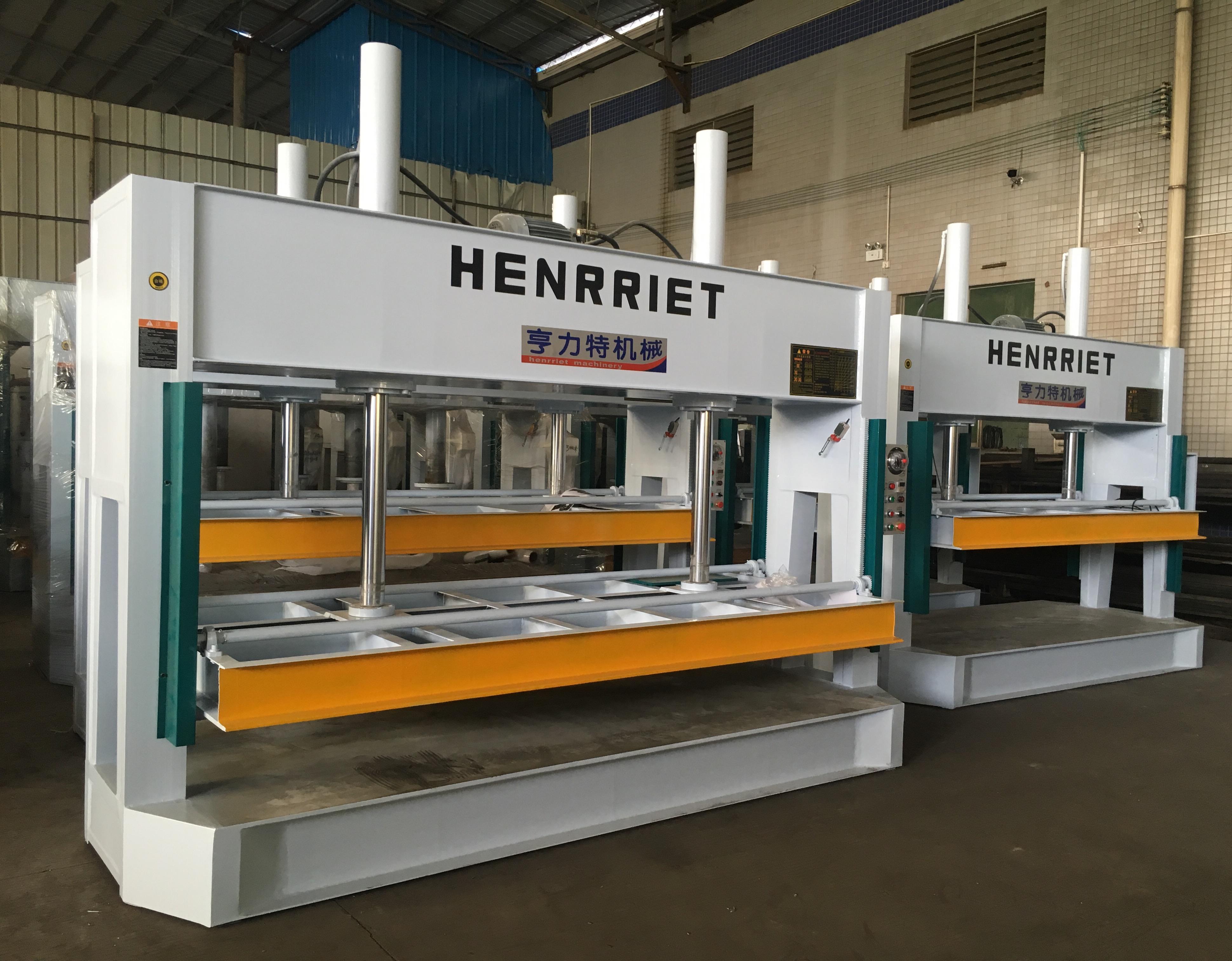 亨力特液壓冷壓機HLT3248-50t鋁蜂窩板冷壓機示例圖2
