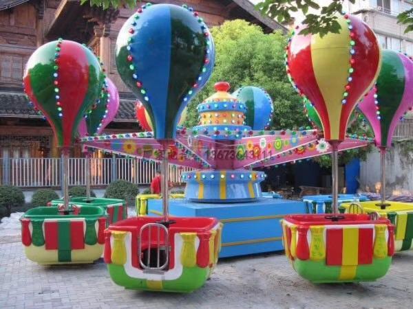 儿童12座迷你飞椅游乐设备 旋转飞椅大洋游乐厂家专业定制生产示例图36